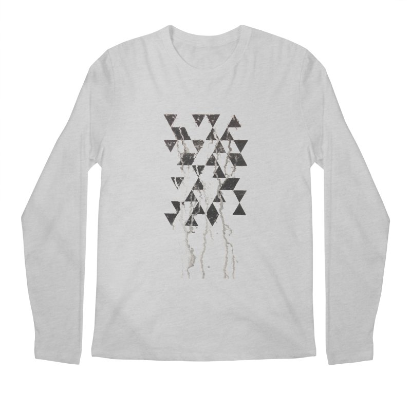 Triangles Men's Longsleeve T-Shirt by Lotus Stencils