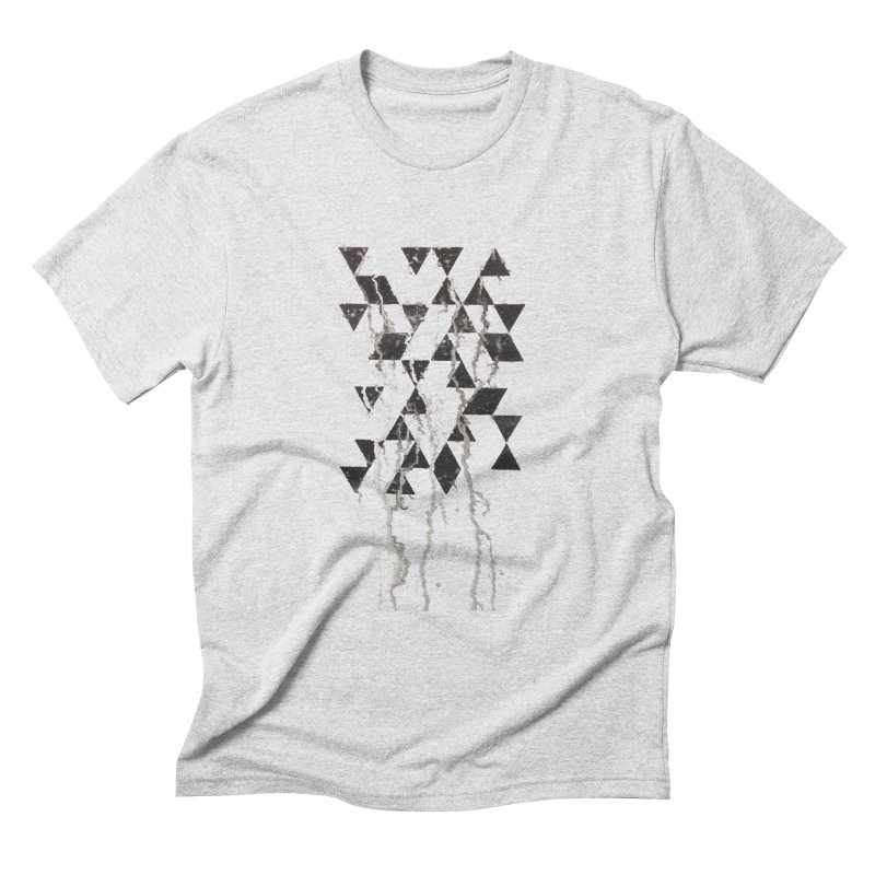 Triangles Men's T-Shirt by Lotus Stencils