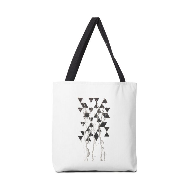 Triangles Accessories Bag by Lotus Stencils