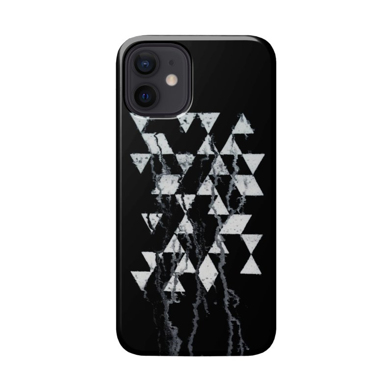 Triangles Accessories Phone Case by Lotus Stencils
