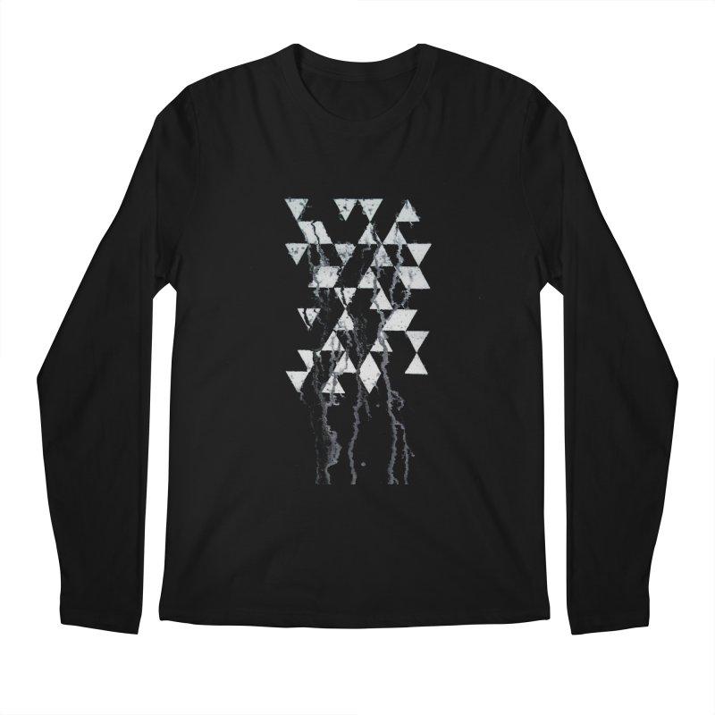 Triangles Men's Longsleeve T-Shirt by Lotus Stencils