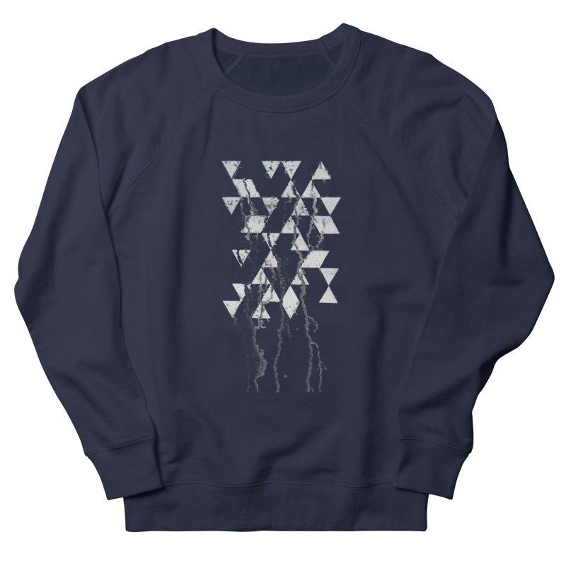 Triangles Men's Sweatshirt by Lotus Stencils