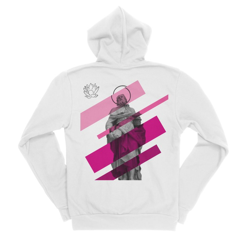 Chiesa dei Gesuiti Men's Zip-Up Hoody by Lotus Stencils
