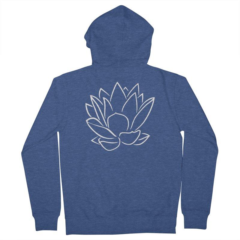 Lotus Stencils Logo Zip-Up Hoodie Men's Zip-Up Hoody by Lotus Stencils