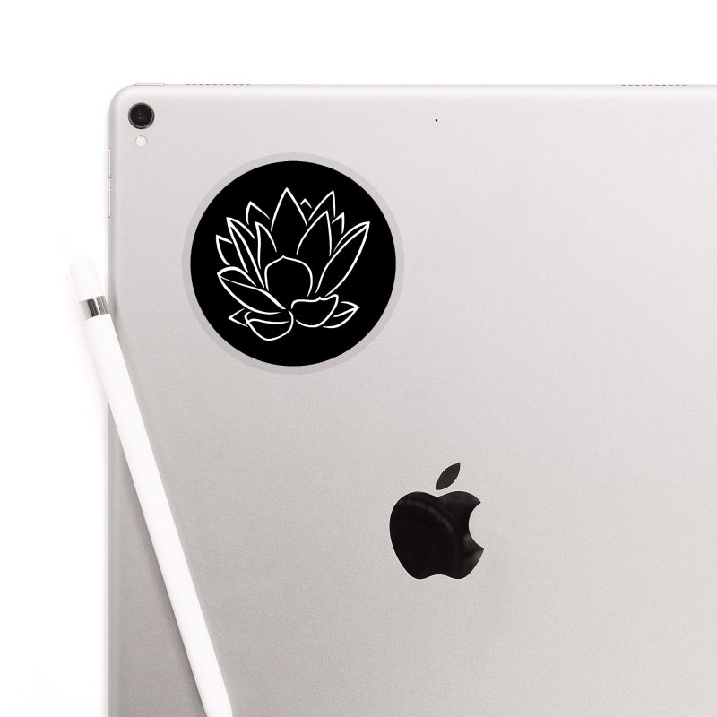 Lotus Stencils - Logo Sticker Accessories Sticker by Lotus Stencils