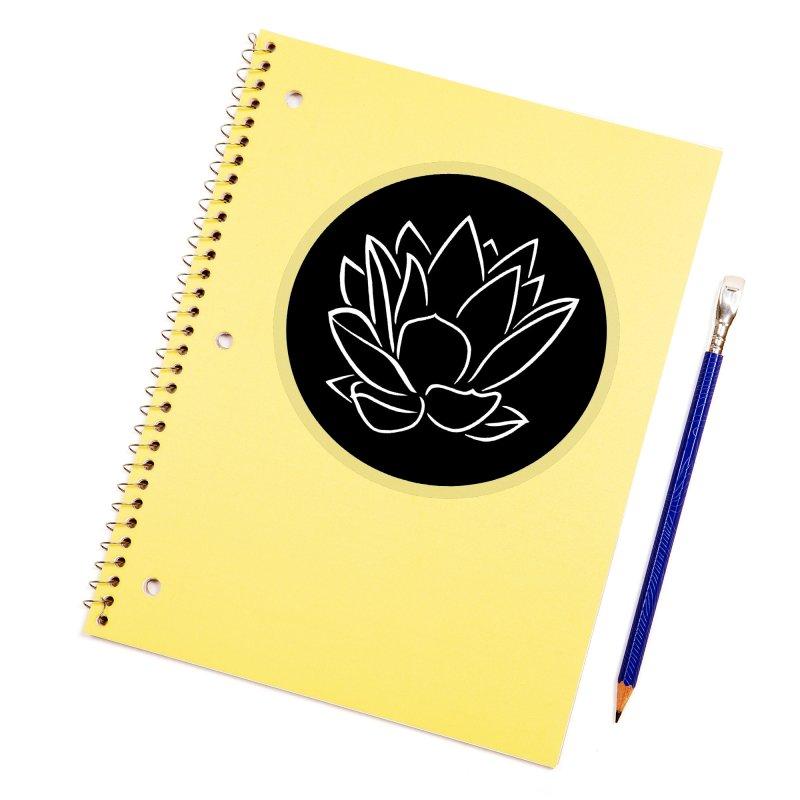 Lotus Stencils - Logo Sticker Accessories Sticker by Lotus Stencils