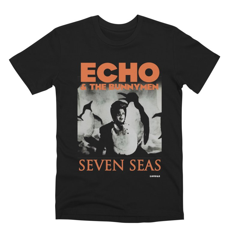 Seven Seas 1984 ✧ Echo and the Bunnymen Men's T-Shirt by LOUDER.ink