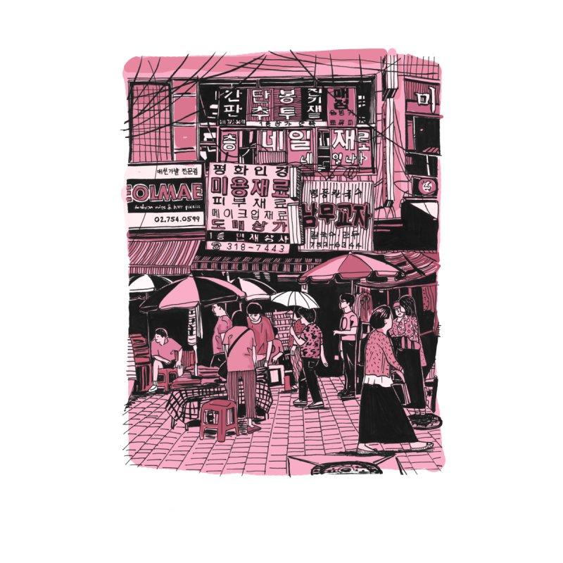 Namdaemun  by Louis Barnard Illustration