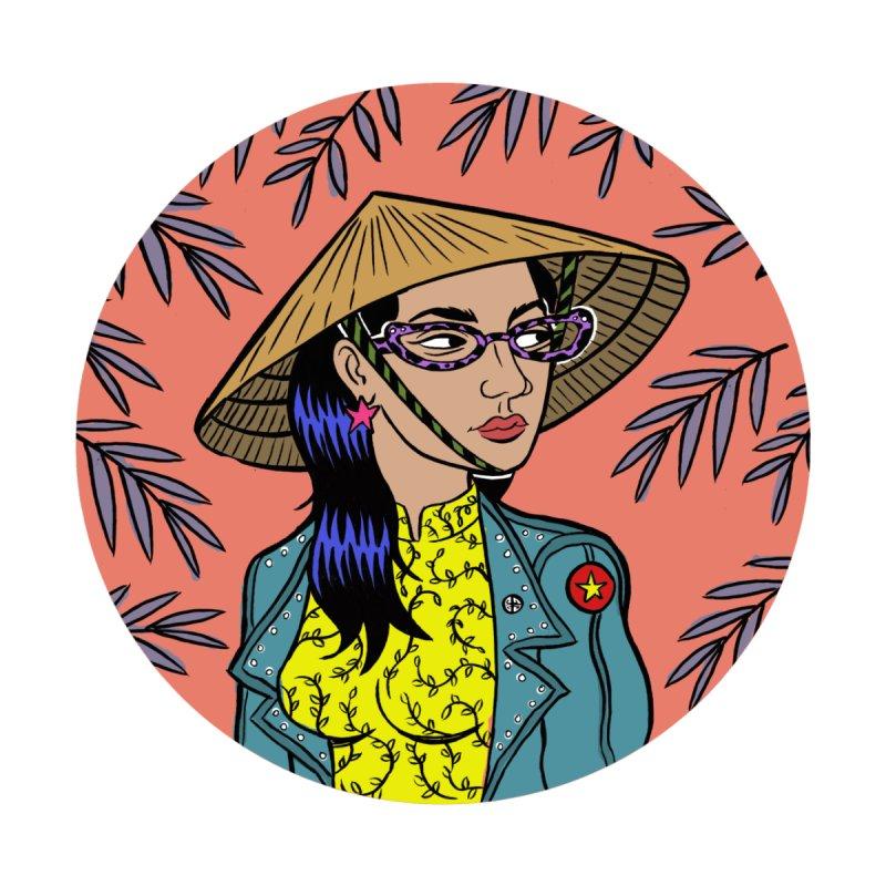 Vietnamese Woman by Louis Barnard Illustration