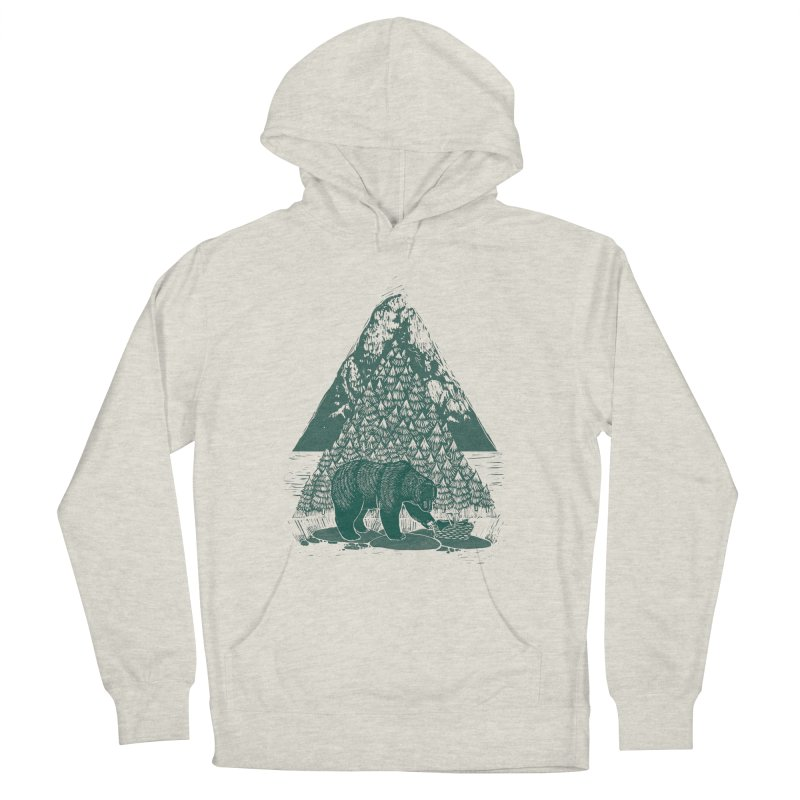 Teddy Bear Picnic Men's Pullover Hoody by louisehubbard's Artist Shop