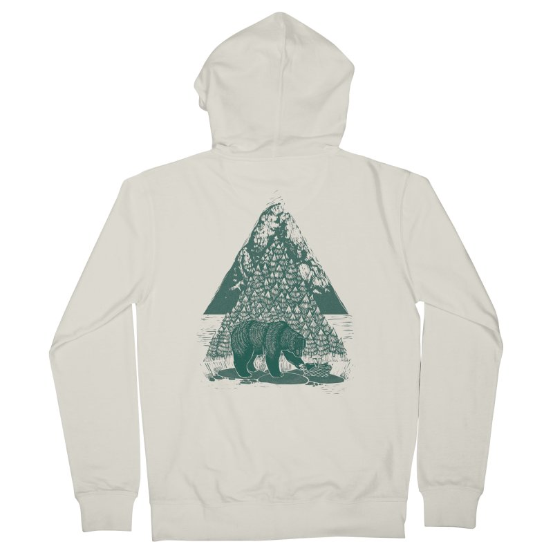 Teddy Bear Picnic Women's Zip-Up Hoody by louisehubbard's Artist Shop
