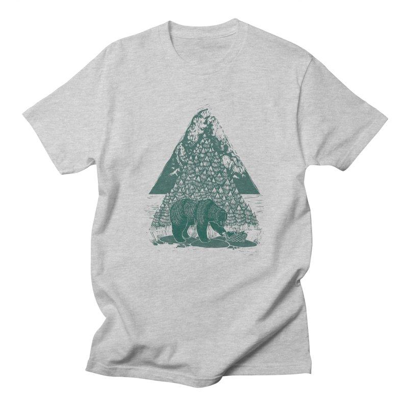 Teddy Bear Picnic Men's T-shirt by louisehubbard's Artist Shop