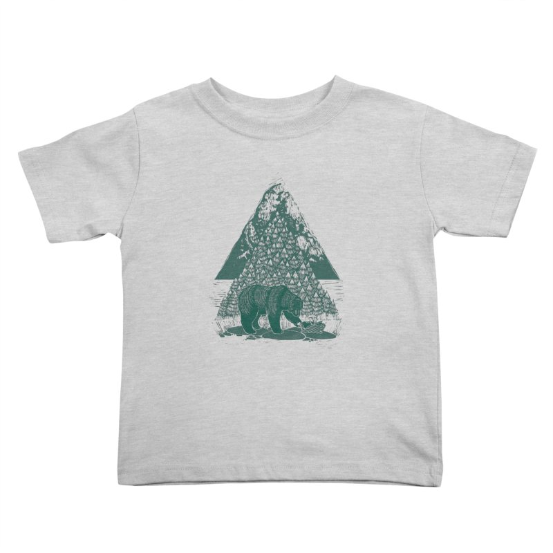 Teddy Bear Picnic Kids Toddler T-Shirt by louisehubbard's Artist Shop