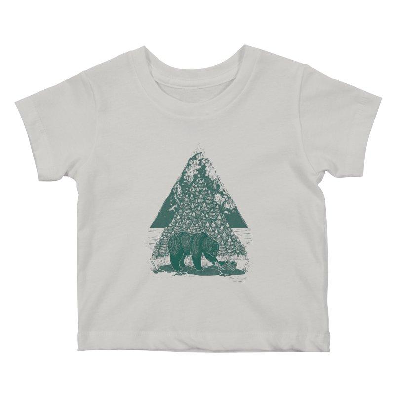 Teddy Bear Picnic Kids Baby T-Shirt by louisehubbard's Artist Shop