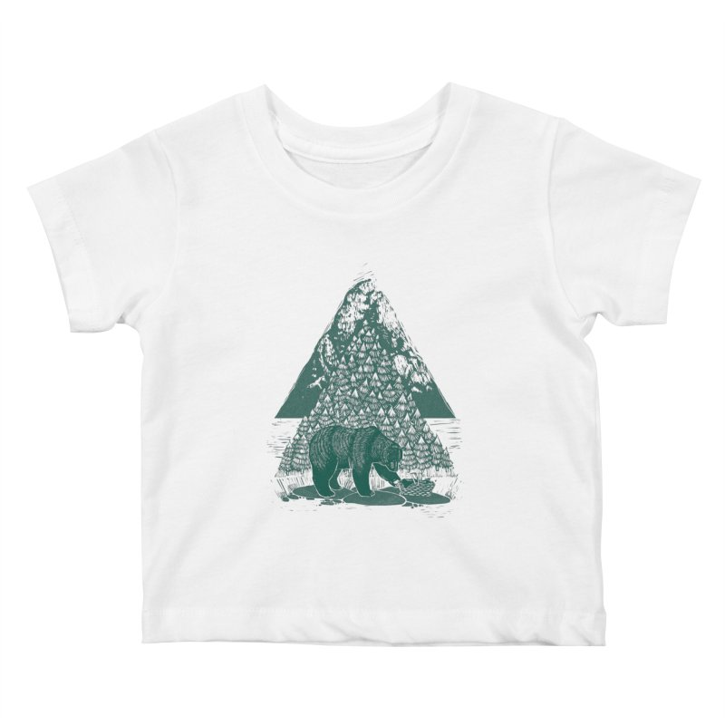 Teddy Bear Picnic Kids Baby T-Shirt by louisehubbard's Artist Shop