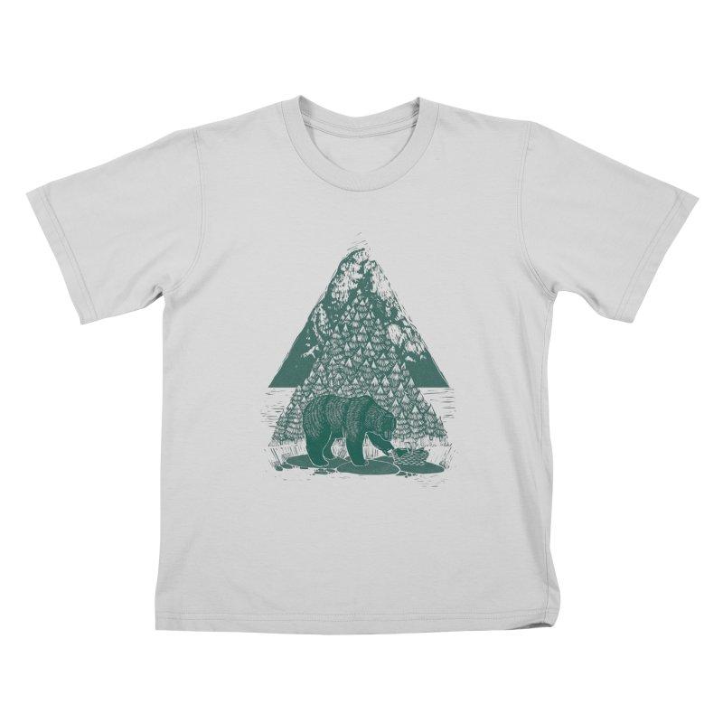 Teddy Bear Picnic Kids T-Shirt by louisehubbard's Artist Shop