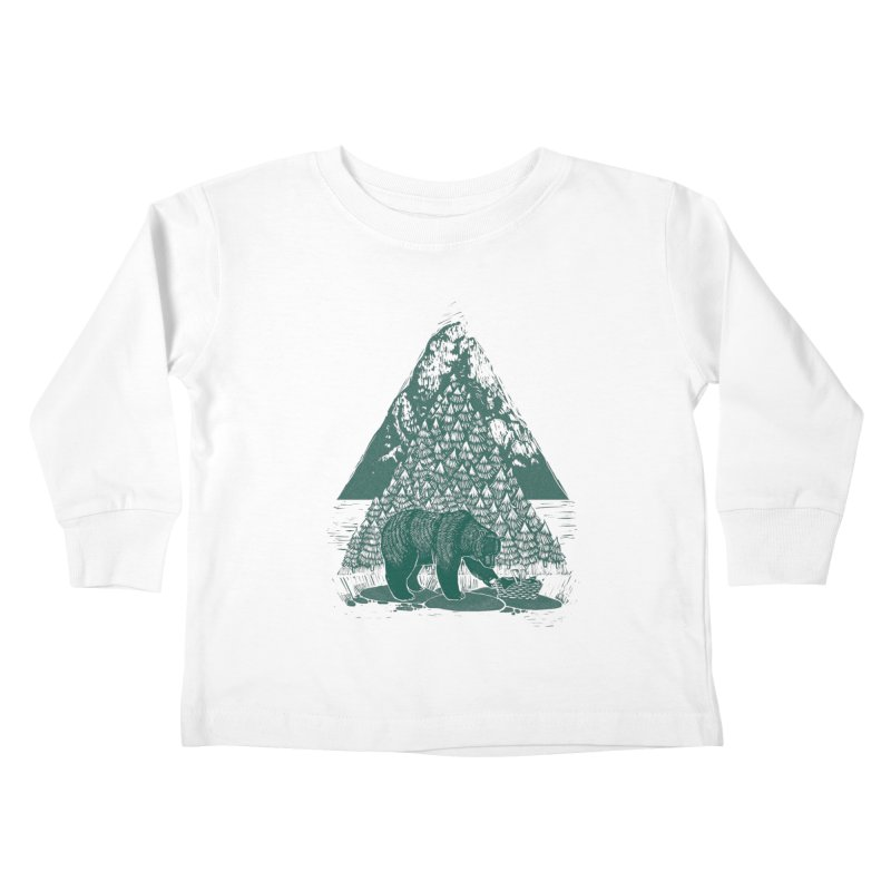 Teddy Bear Picnic Kids Toddler Longsleeve T-Shirt by louisehubbard's Artist Shop