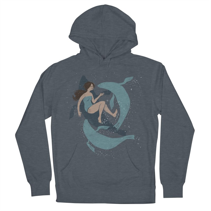 Selkie Men's Pullover Hoody by louisehubbard's Artist Shop