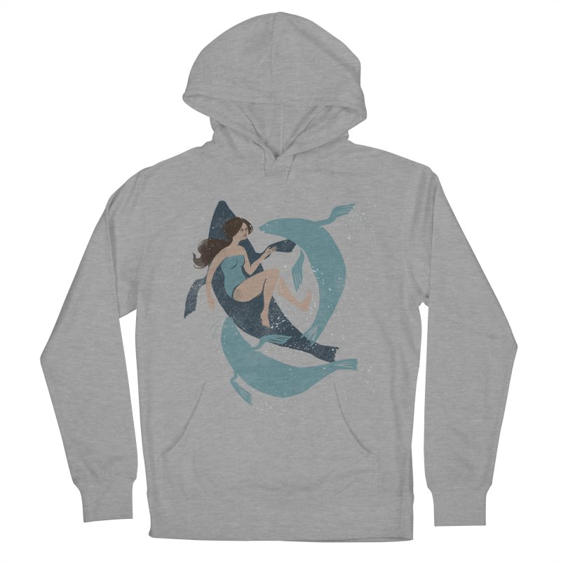 Selkie Men's French Terry Pullover Hoody by louisehubbard's Artist Shop
