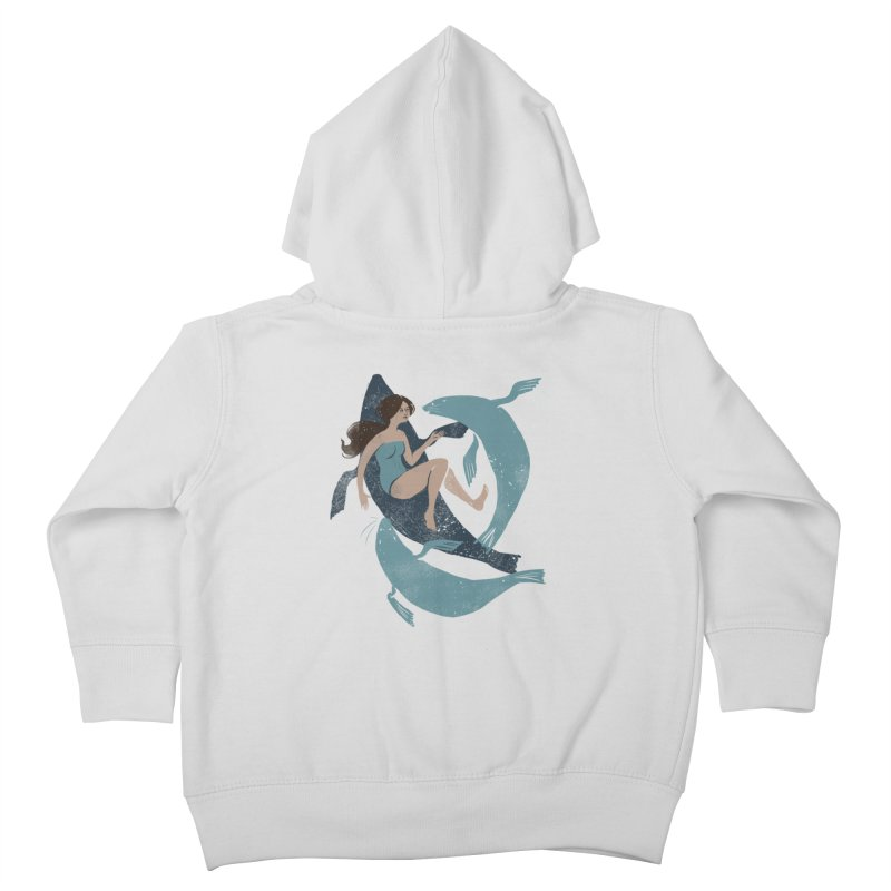 Selkie Kids Toddler Zip-Up Hoody by louisehubbard's Artist Shop