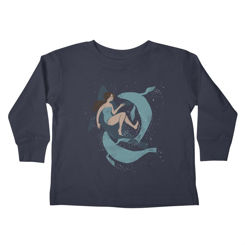 Selkie Kids Toddler Longsleeve T-Shirt by louisehubbard's Artist Shop