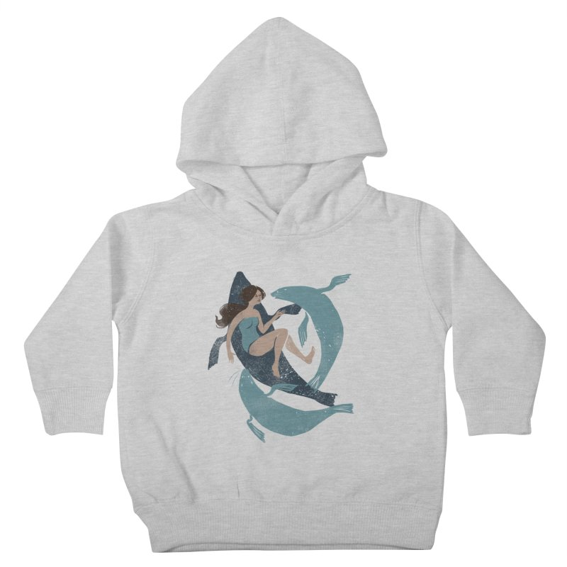 Selkie Kids Toddler Pullover Hoody by louisehubbard's Artist Shop