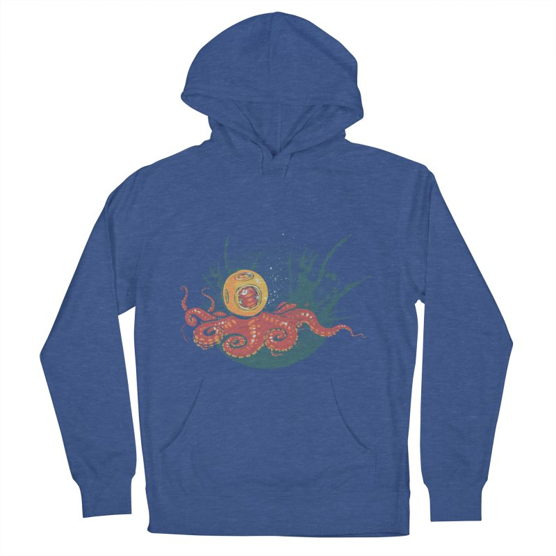 Deep Sea Diver Women's Pullover Hoody by louisehubbard's Artist Shop