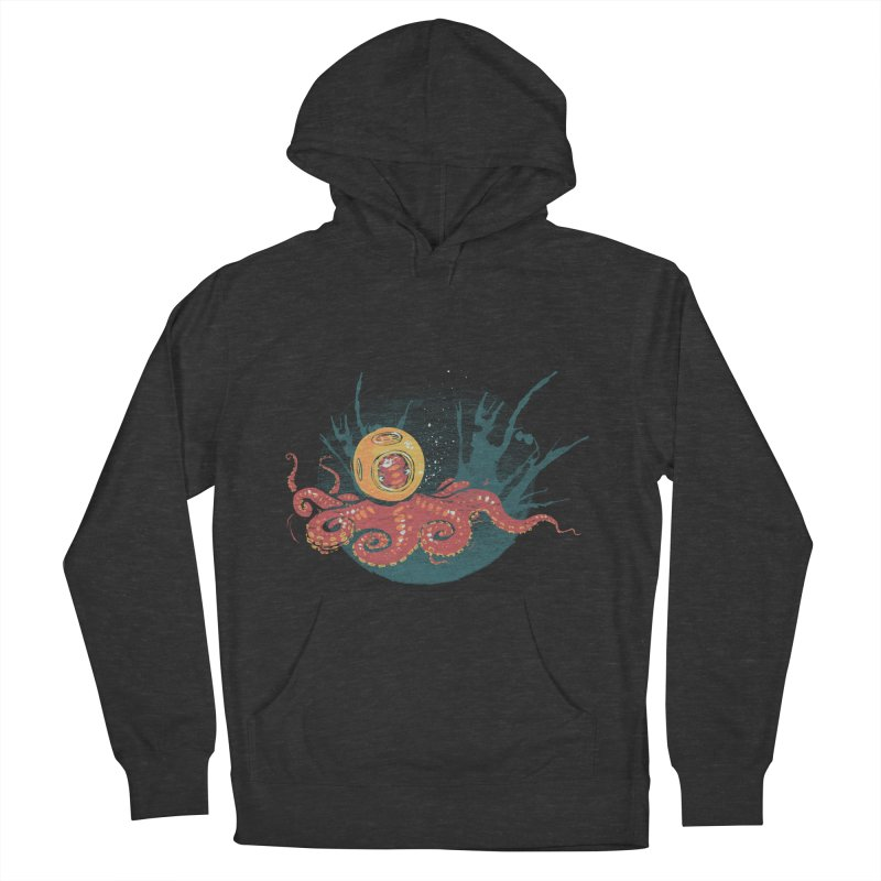 Deep Sea Diver Men's Pullover Hoody by louisehubbard's Artist Shop