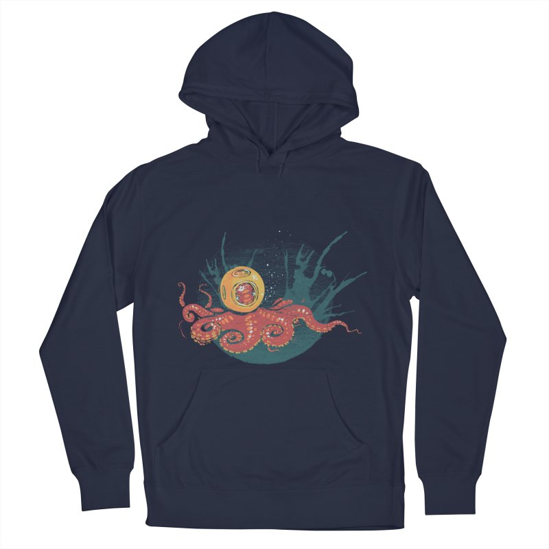 Deep Sea Diver Men's Pullover Hoody by louisehubbard's Artist Shop