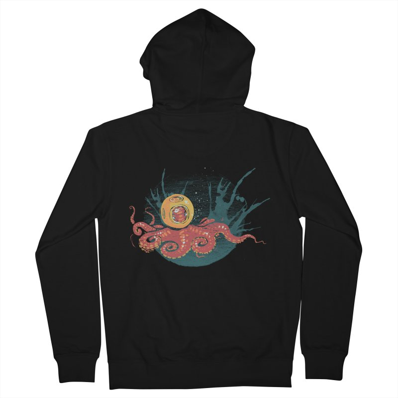 Deep Sea Diver Women's Zip-Up Hoody by louisehubbard's Artist Shop