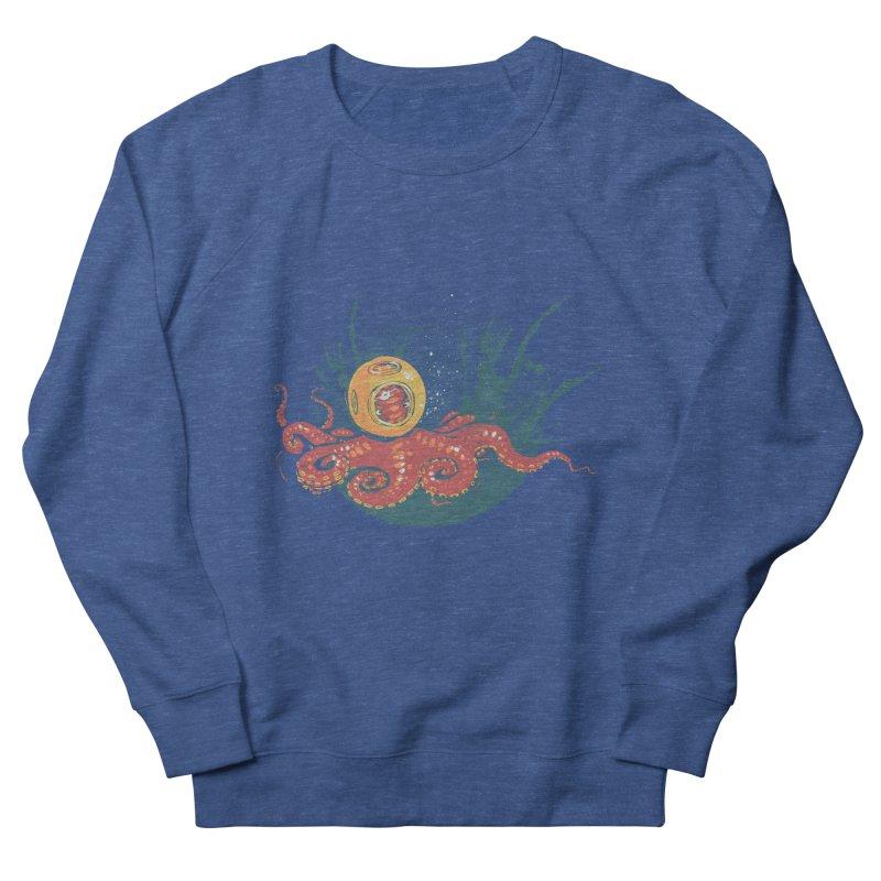 Deep Sea Diver Women's Sweatshirt by louisehubbard's Artist Shop