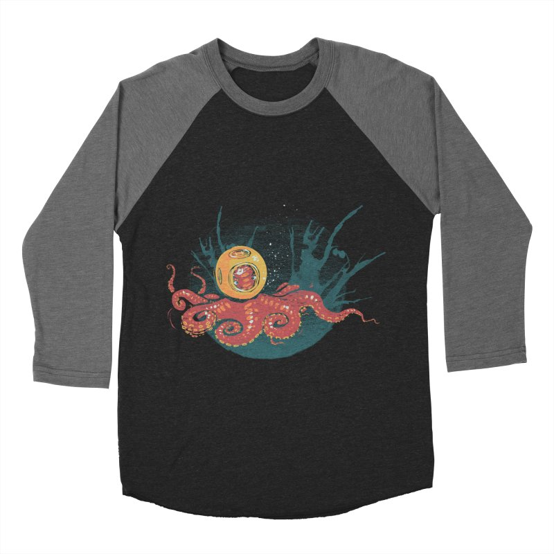 Deep Sea Diver Men's Baseball Triblend Longsleeve T-Shirt by louisehubbard's Artist Shop