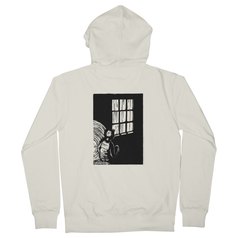 Tintin Men's French Terry Zip-Up Hoody by louisehubbard's Artist Shop