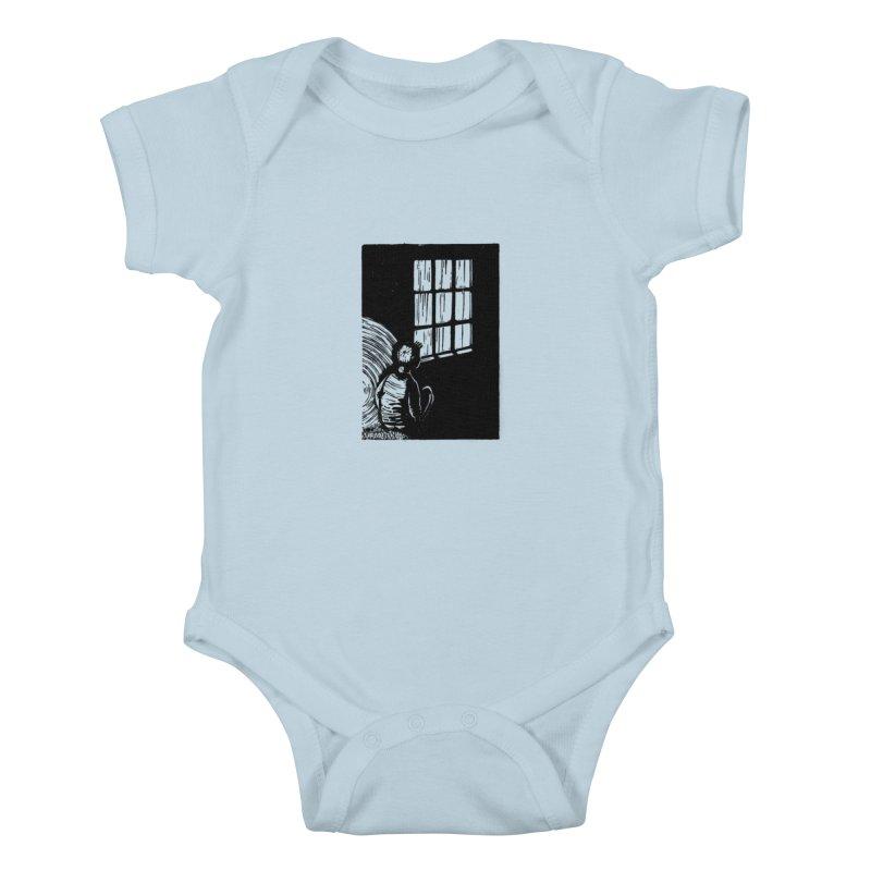 Tintin Kids Baby Bodysuit by louisehubbard's Artist Shop