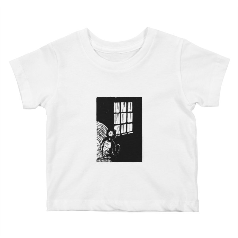 Tintin Kids Baby T-Shirt by louisehubbard's Artist Shop