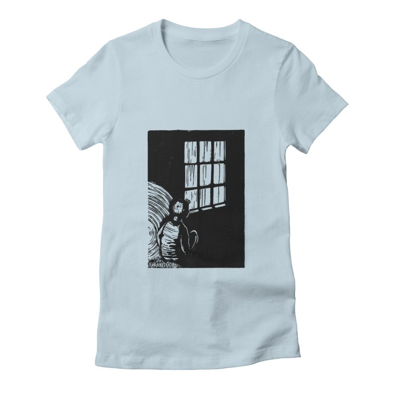 Tintin Women's Fitted T-Shirt by louisehubbard's Artist Shop