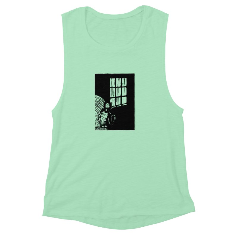 Tintin Women's Muscle Tank by louisehubbard's Artist Shop