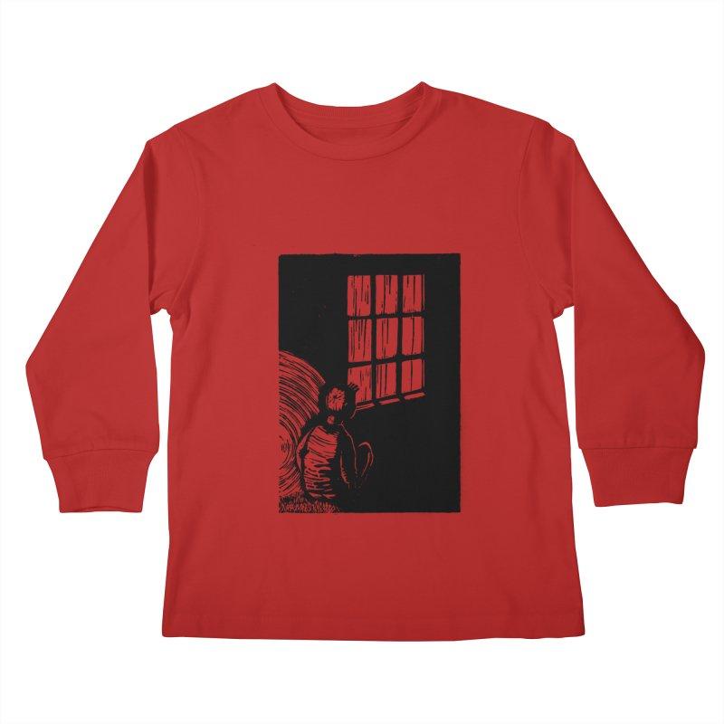 Tintin Kids Longsleeve T-Shirt by louisehubbard's Artist Shop