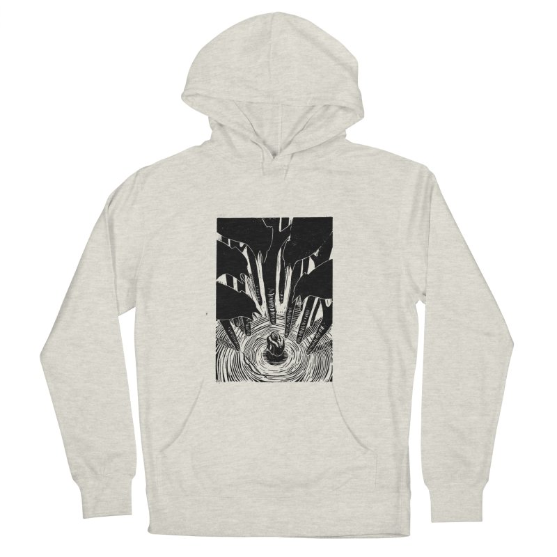 Mocking Jay Men's French Terry Pullover Hoody by louisehubbard's Artist Shop