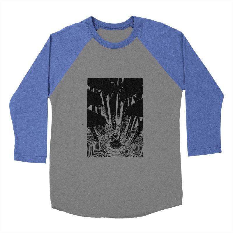 Mocking Jay Women's Baseball Triblend T-Shirt by louisehubbard's Artist Shop