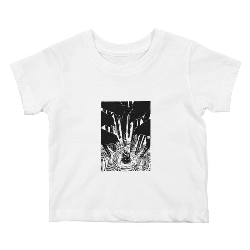 Mocking Jay Kids Baby T-Shirt by louisehubbard's Artist Shop