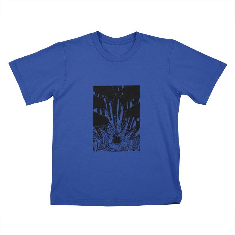 Mocking Jay Kids T-Shirt by louisehubbard's Artist Shop