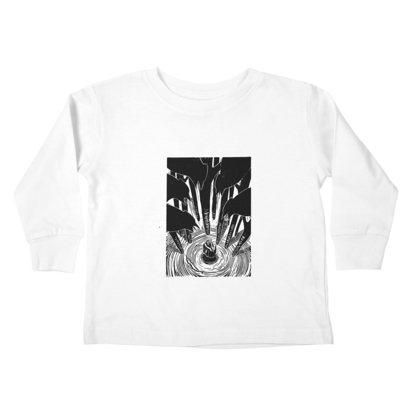 Mocking Jay Kids Toddler Longsleeve T-Shirt by louisehubbard's Artist Shop