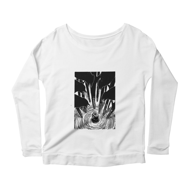 Mocking Jay Women's Scoop Neck Longsleeve T-Shirt by louisehubbard's Artist Shop