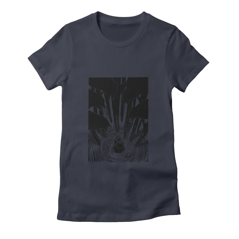 Mocking Jay Women's Fitted T-Shirt by louisehubbard's Artist Shop