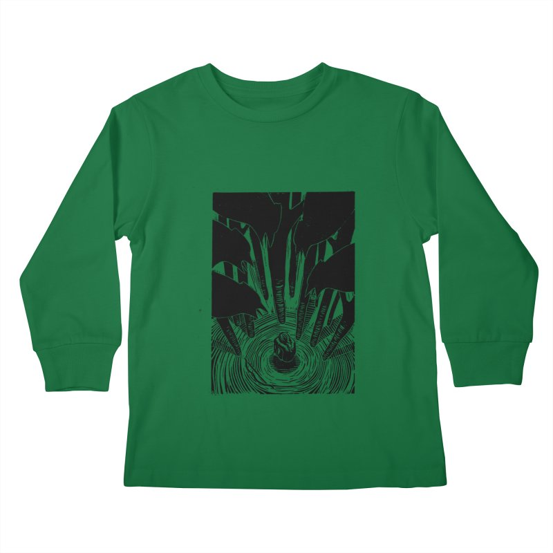 Mocking Jay Kids Longsleeve T-Shirt by louisehubbard's Artist Shop