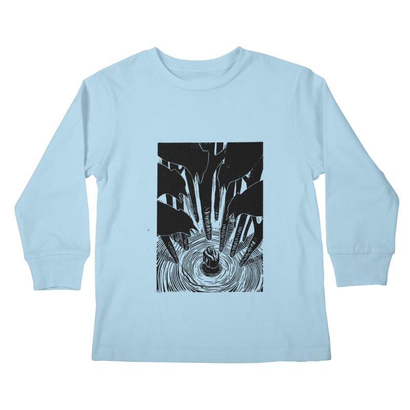 Mocking Jay Kids Longsleeve T-Shirt by louisehubbard's Artist Shop