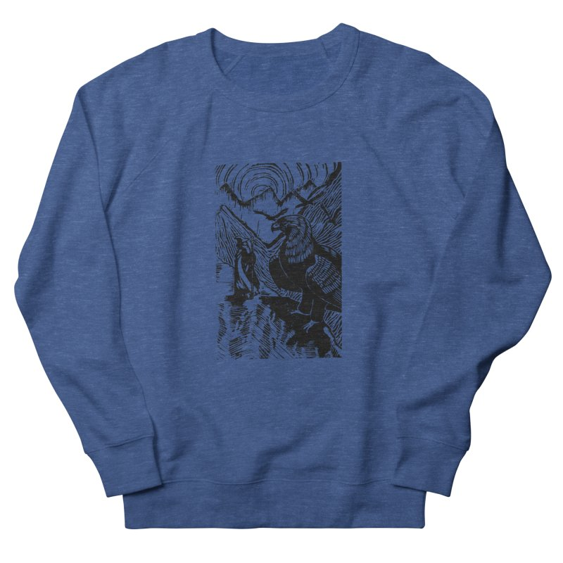 Meeting the Eagles Women's Sweatshirt by louisehubbard's Artist Shop