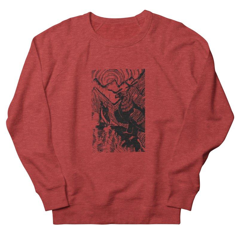 Meeting the Eagles Women's Sweatshirt by louisehubbard's Artist Shop