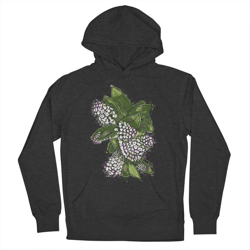 Bunch of Flowers Men's French Terry Pullover Hoody by louisehubbard's Artist Shop